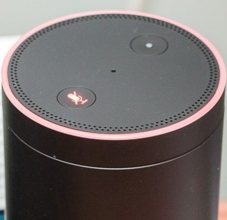 Amazon Echo, a voice-activated speaker